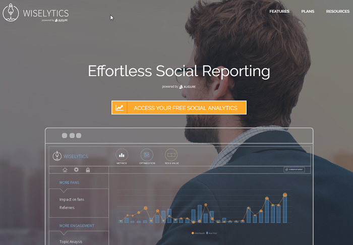 social media analytics tools - wiselytics