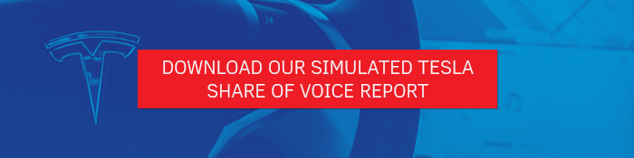 Tesla share of voice report download
