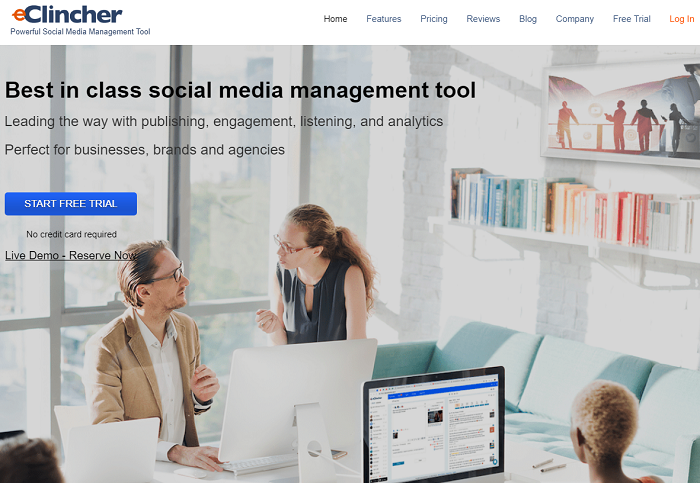 social media analytics tools - eclincher