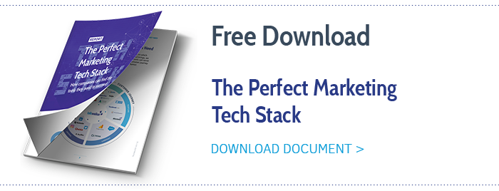 Marketing Tech Stack guide
