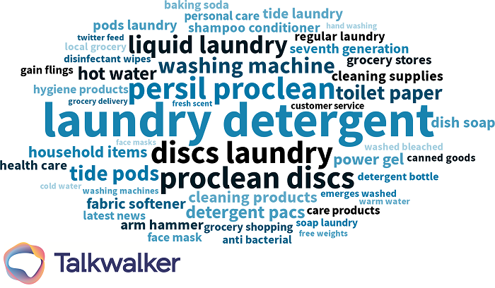 Category insights - detergent keywords