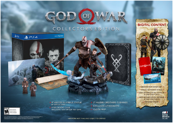 God of War Limited edition