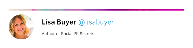 Lisa Buyer Bio