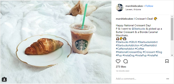 Starbucks Instagram Engagement