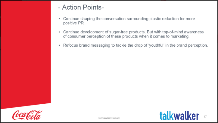End of year marketing report action points