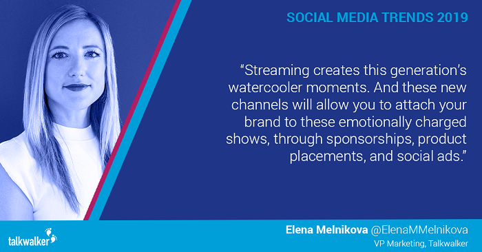 Social media trends 2019 Elena Melnikova
