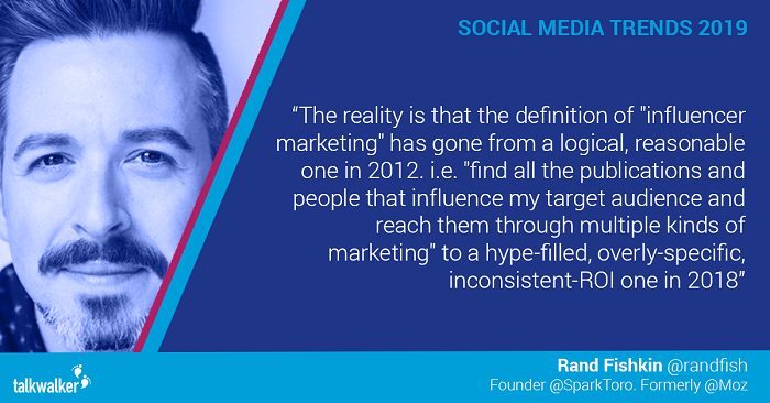 Social media trends 2019 Rand Fishkin