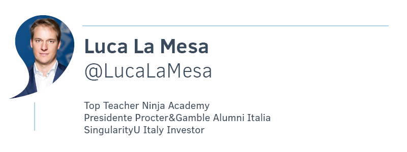 Luca La Mesa Top Teacher