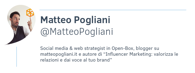 Matteo Poligani Social media & web strategist
