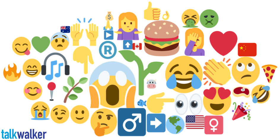 Plants, emotions, questions & more are some of the plant-based meat emojis