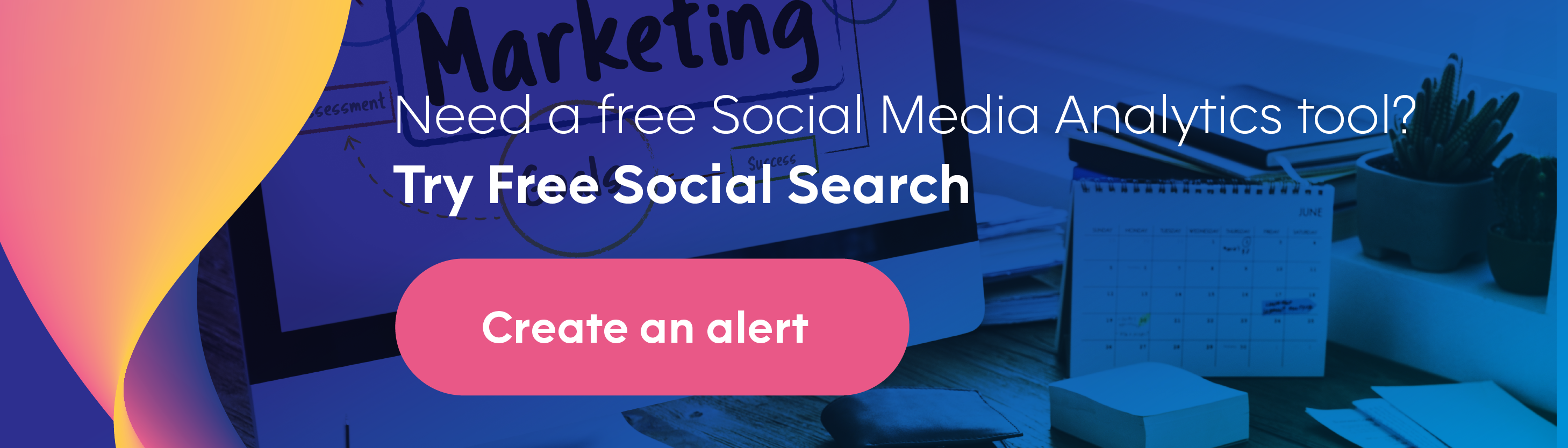Sign up for free social search - free social media monitoring tool