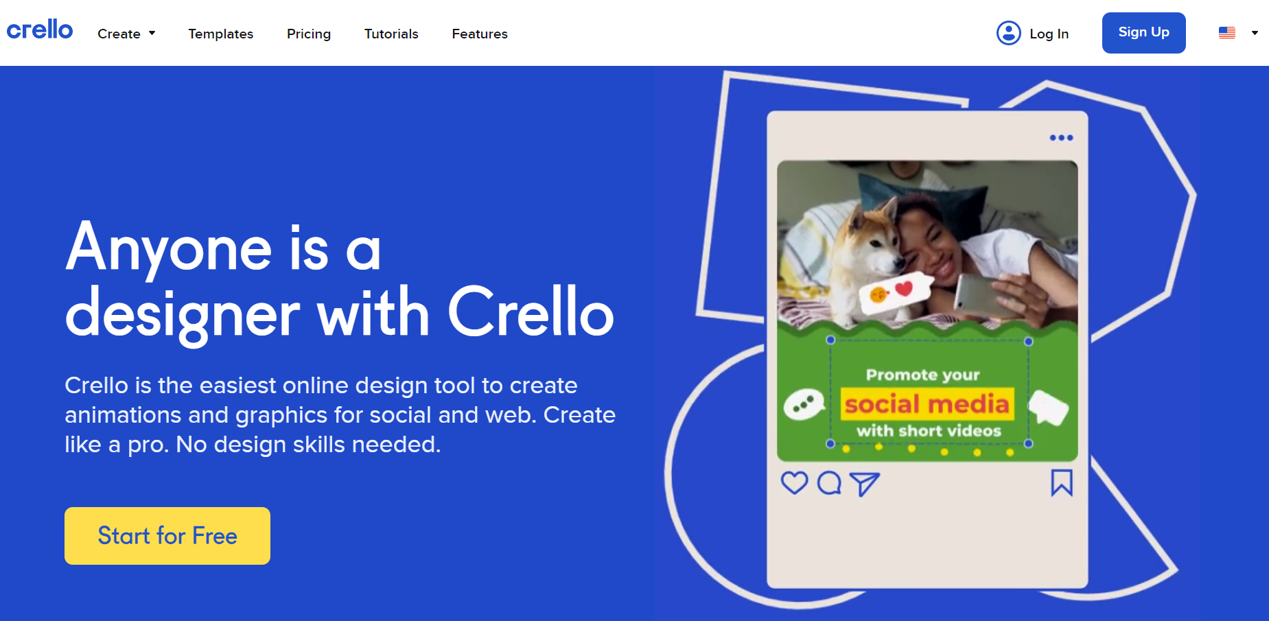 The Simplest Online Image Editor - crello