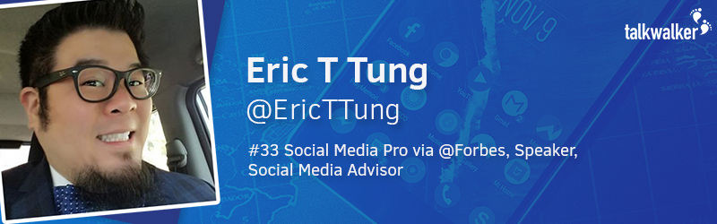 Eric T Tung Social Media Influencer