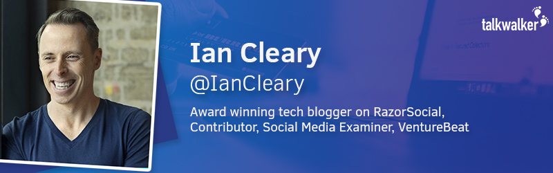 Ian Cleary Editor of Razor Social Tech Blog