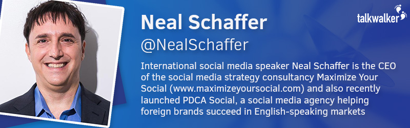 Neal Schaffer CEO of Maximize your Social