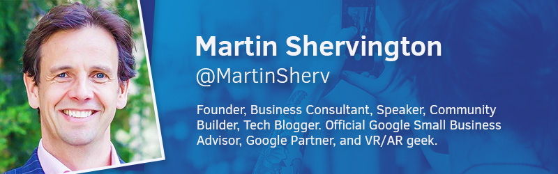 Martin Shervington Founder of Plus Your Business
