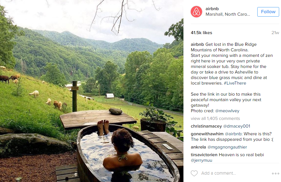 airbnb instagram campaign