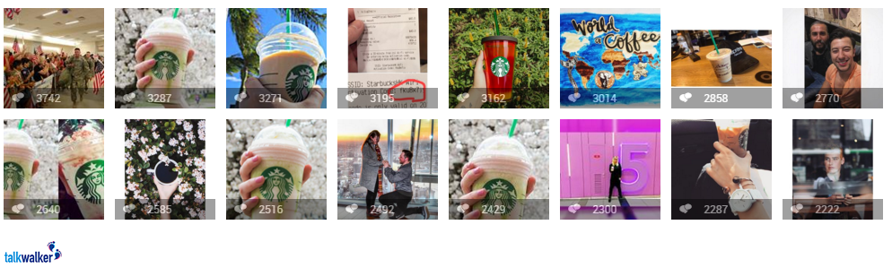 Starbucks image recognition