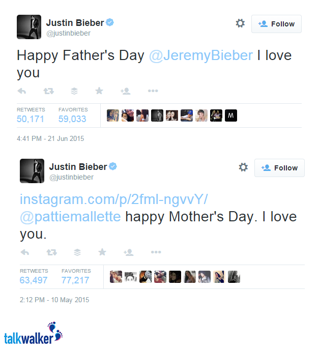 Bieber father's day